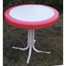 4d Concepts Metal Retro Side Table &