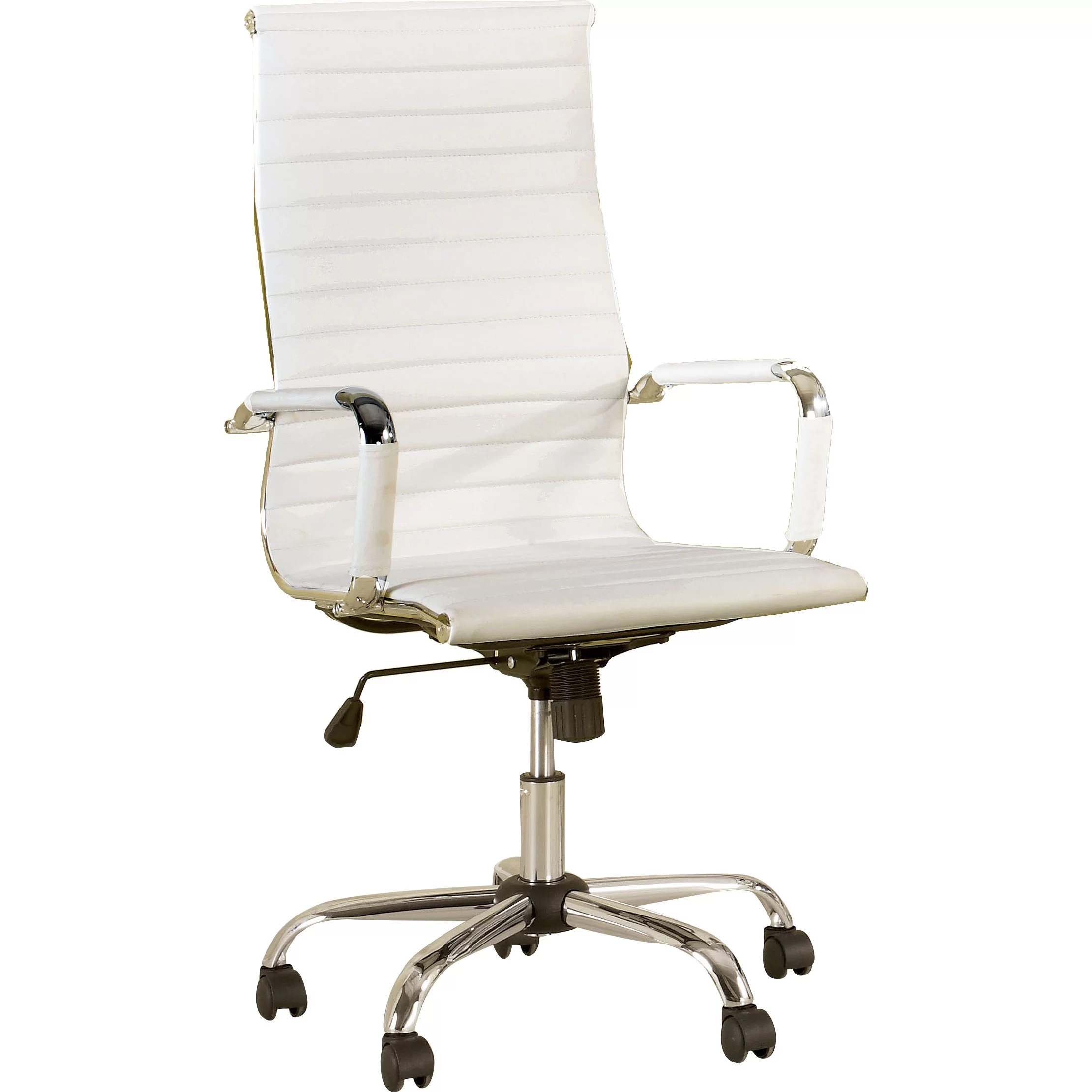 Chair With Casters Hokku Designs Dorynn High Back Office Chair With Casters