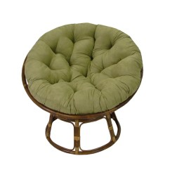 Papasan Lounge Chair Cushion Office Casters For Carpet Blazing Needles And Reviews