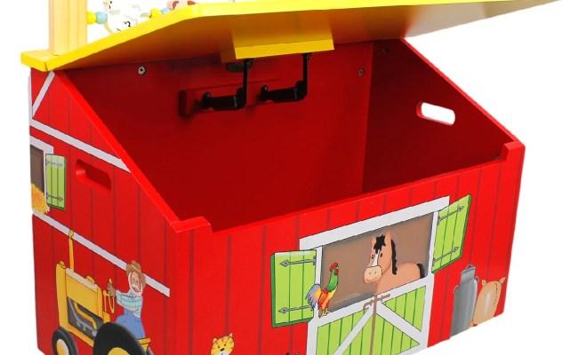 Fantasy Fields Happy Farm Toy Chest Reviews Wayfair