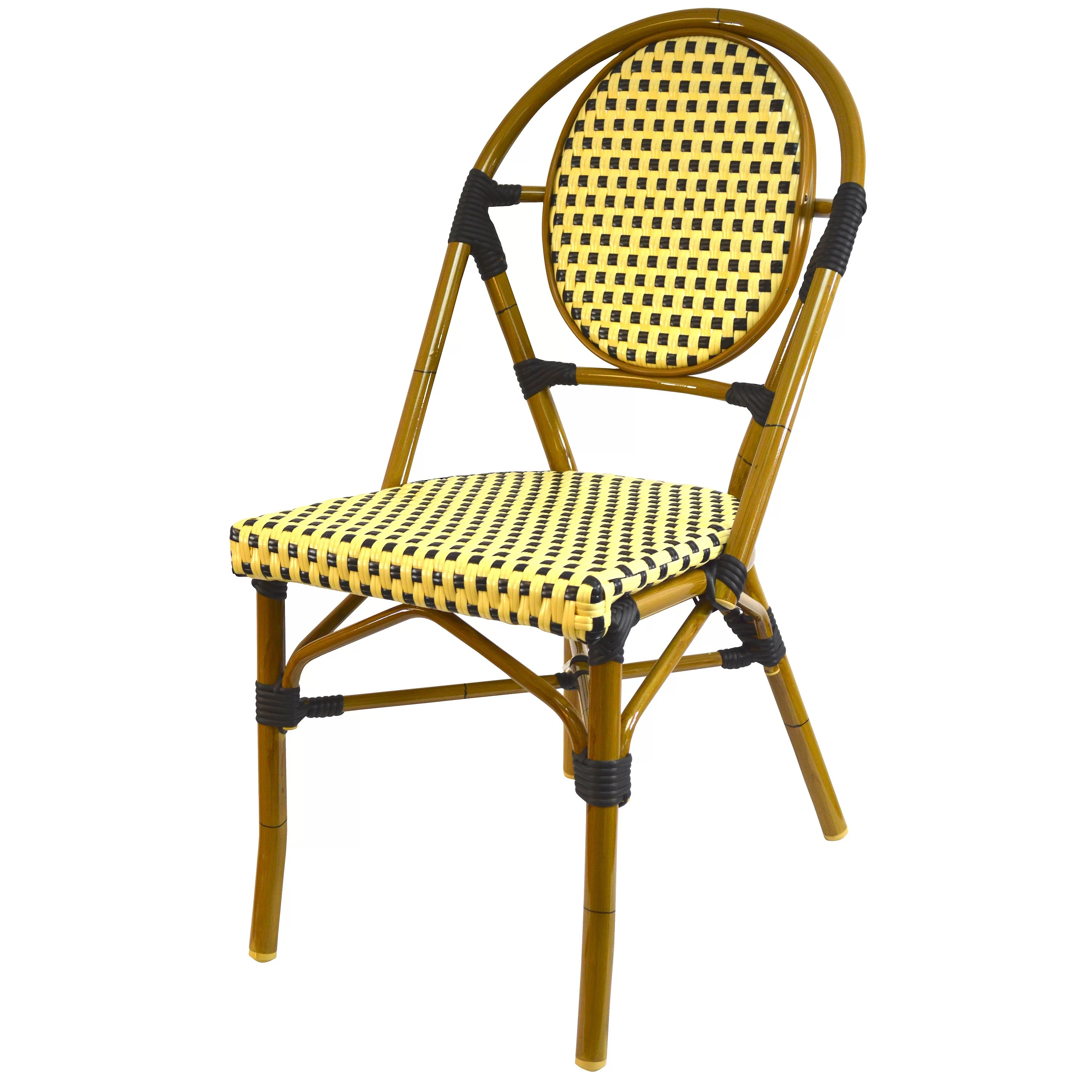 Stacking Dining Chairs French Stacking Dining Side Chair Wayfair