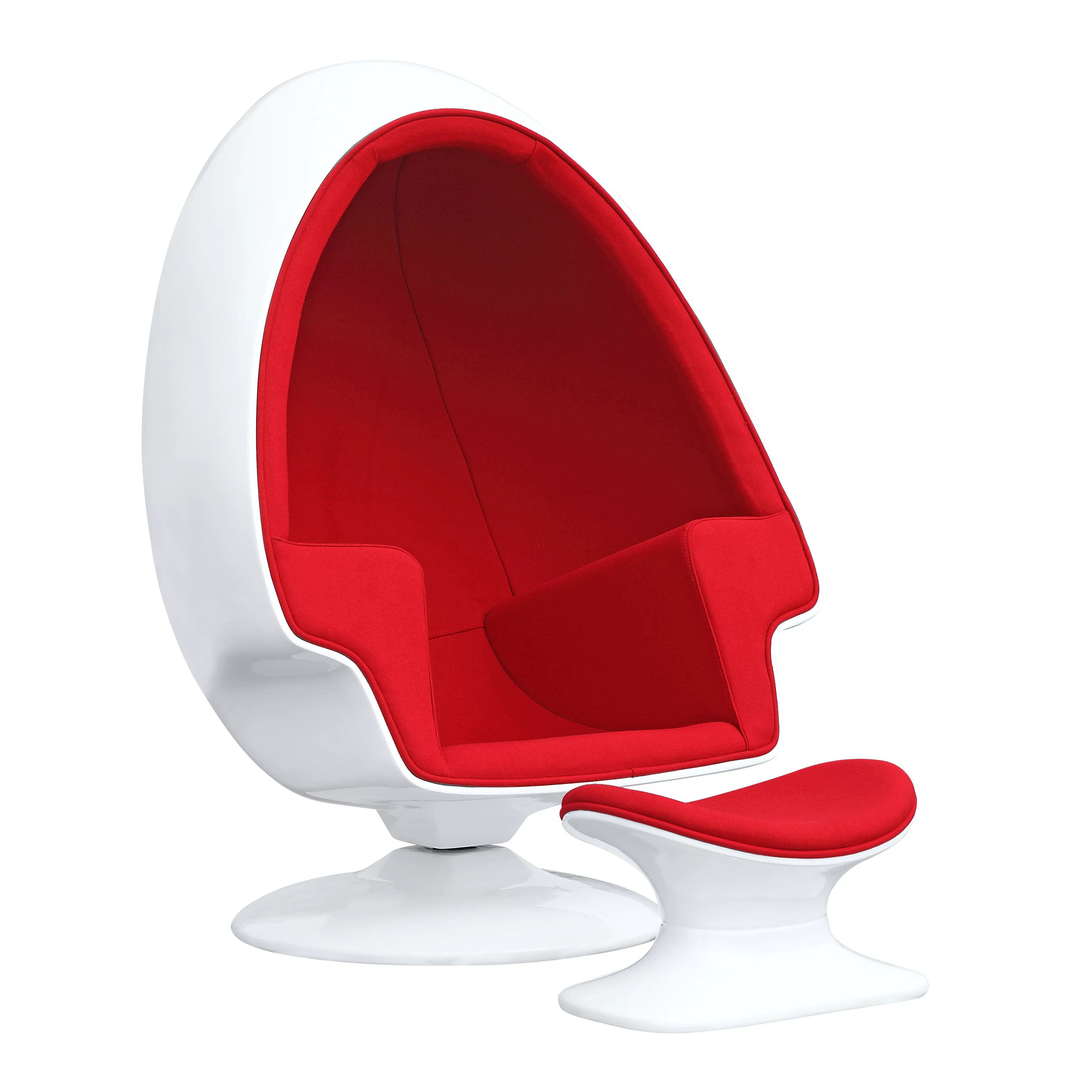 Alpha Egg Chair Alpha Egg Chair And Ottoman Wayfair