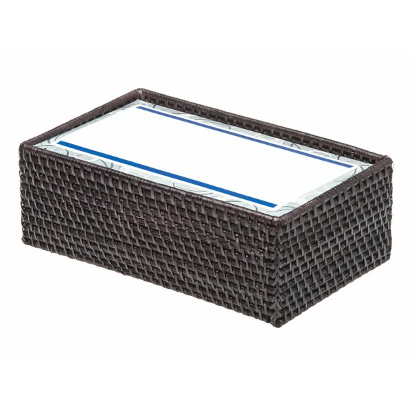 Kouboo Rectangular Rattan Tissue Box Cover &
