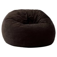 Brayden Studio Everett Memory Foam Filled Bean Bag Chair ...