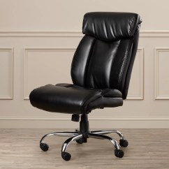 Leather Office Chairs Without Arms Outdoor Plastic Lounge Brayden Studio Burgess High Back Executive Chair