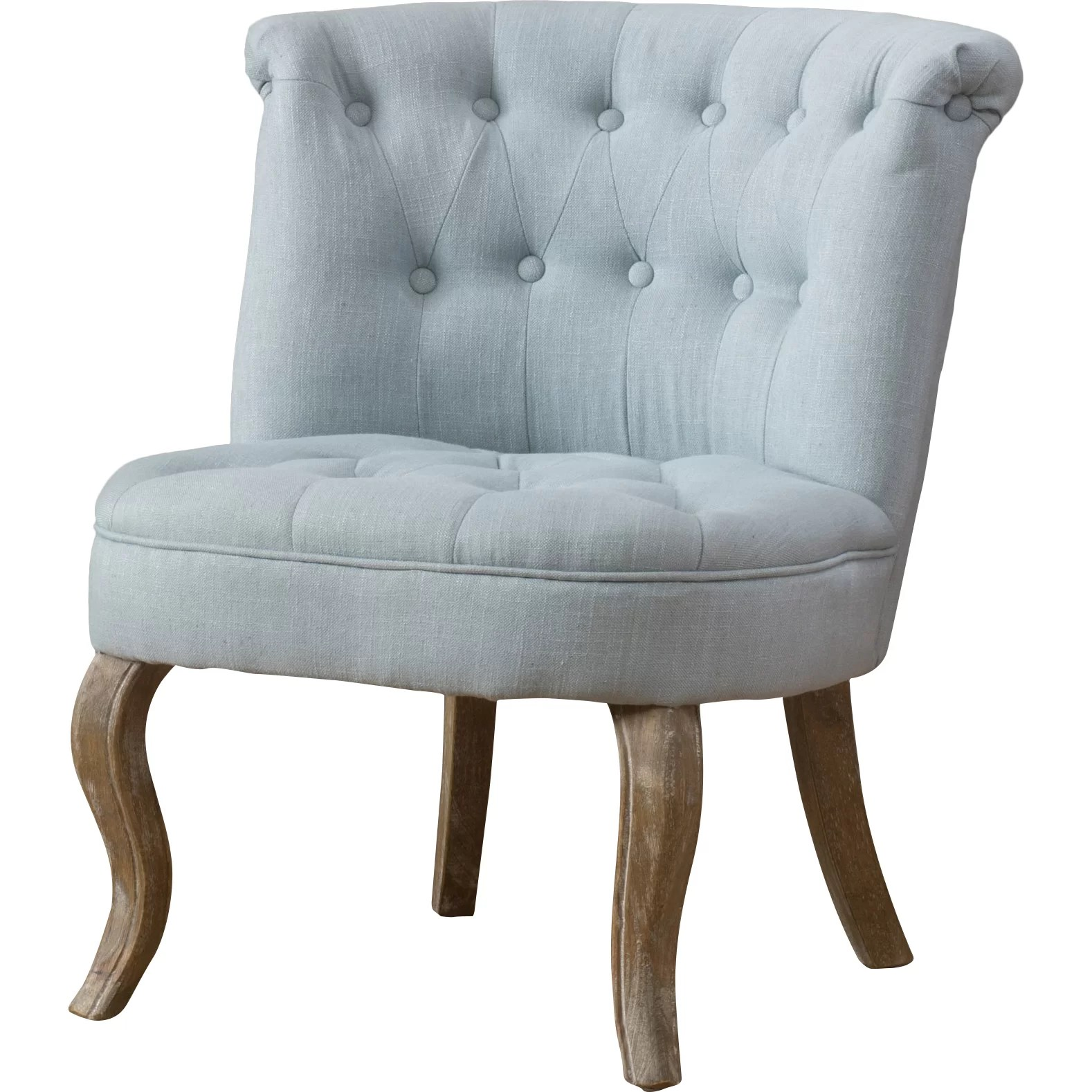Tufted Slipper Chair Montreuil Tufted Slipper Chair Wayfair