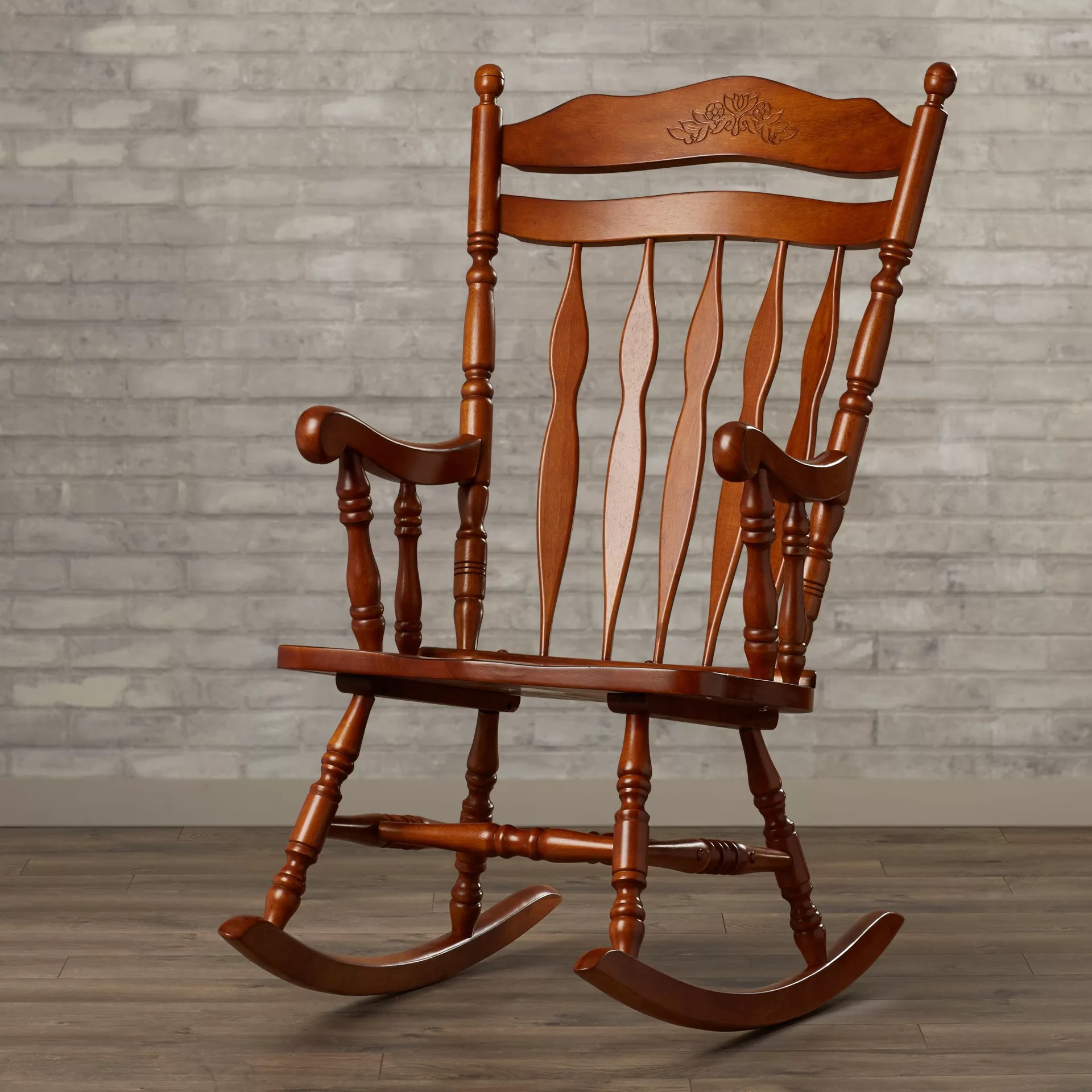 Rocky Chair Loon Peak Greenwood Rocking Chair And Reviews Wayfair