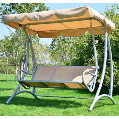 Swing Chair Wayfair Upside Down Back Outsunny Patio With Stand And Reviews