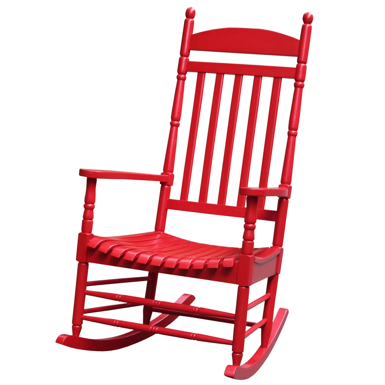 Rocky Chair Breakwater Bay Jonesboro Solid Wood Rocking Chair