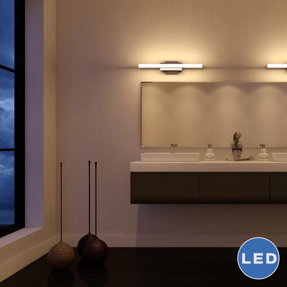 VONNLighting Procyon 23 LED Low Profile Bathroom Lighting Fixture in Satin Nickel  Reviews