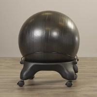 Symple Stuff Exercise Ball Chair & Reviews   Wayfair