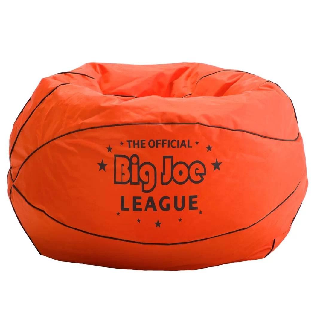 big joe bean bag chair reviews bouncy chairs for baby zoomie kids greyson basketball
