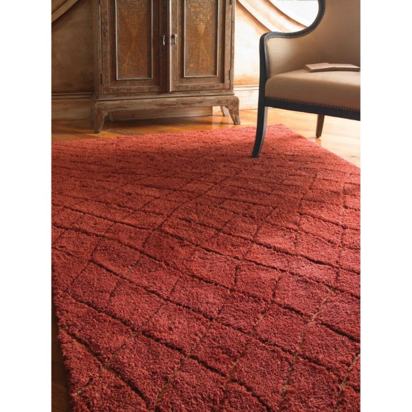 Uttermost Casablanca Tuscan Red Rug &