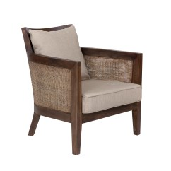 Lounge Chair Material Weaving Rope Seats Jeffan Mumba Fabric And Reviews Wayfair
