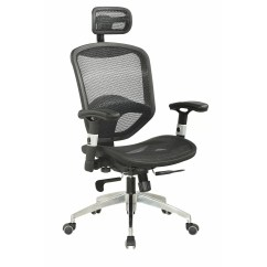 Office Chair Headrest Attachment Aeron Height Adjustment Not Working Chintaly Mid Back Adjustable Mesh With