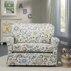 Little Castle Chair And Half Glider Black Crushed Velvet Bedroom Cottage A Reviews