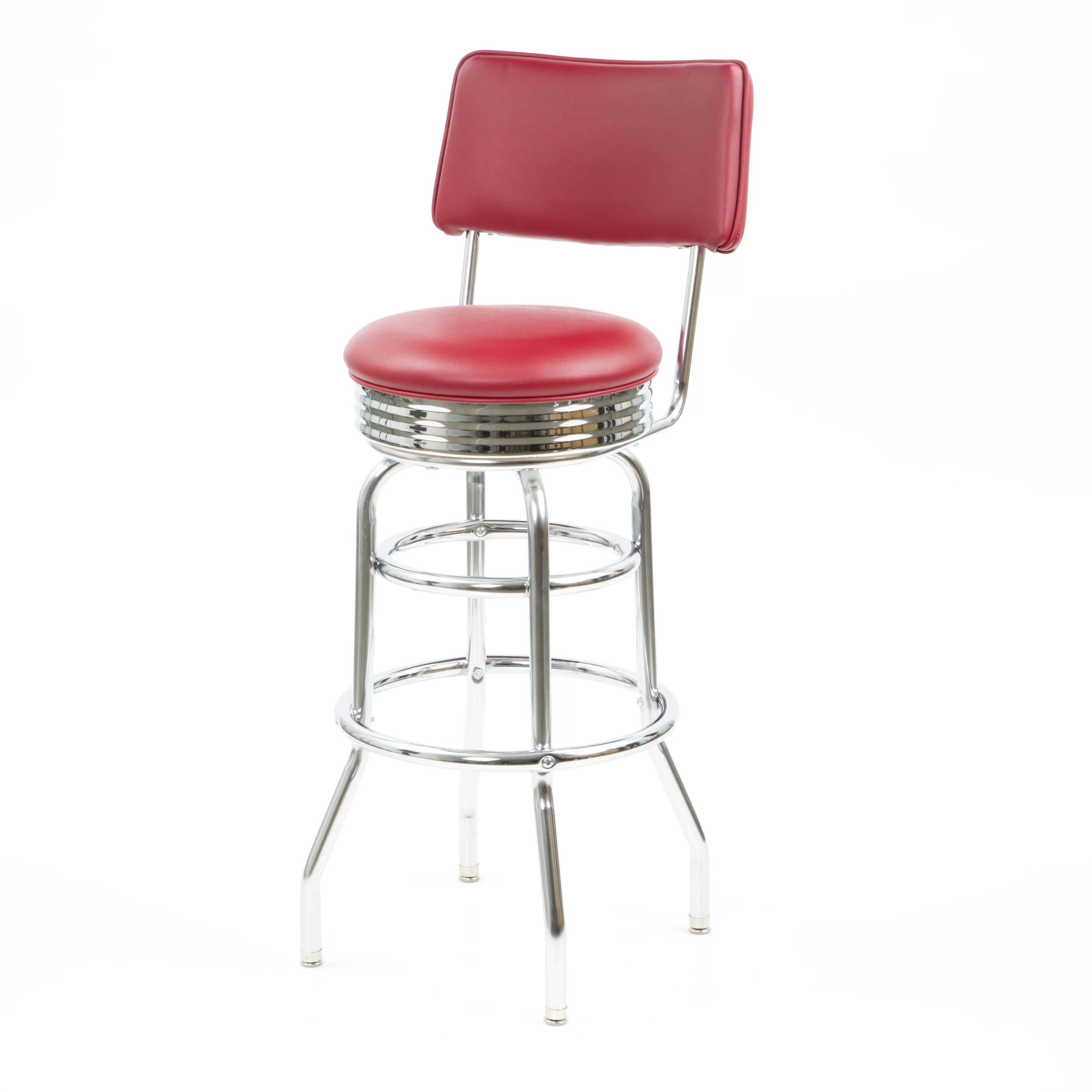 swivel chair regal bedroom chairs cheap new retro express bar stool and reviews wayfair