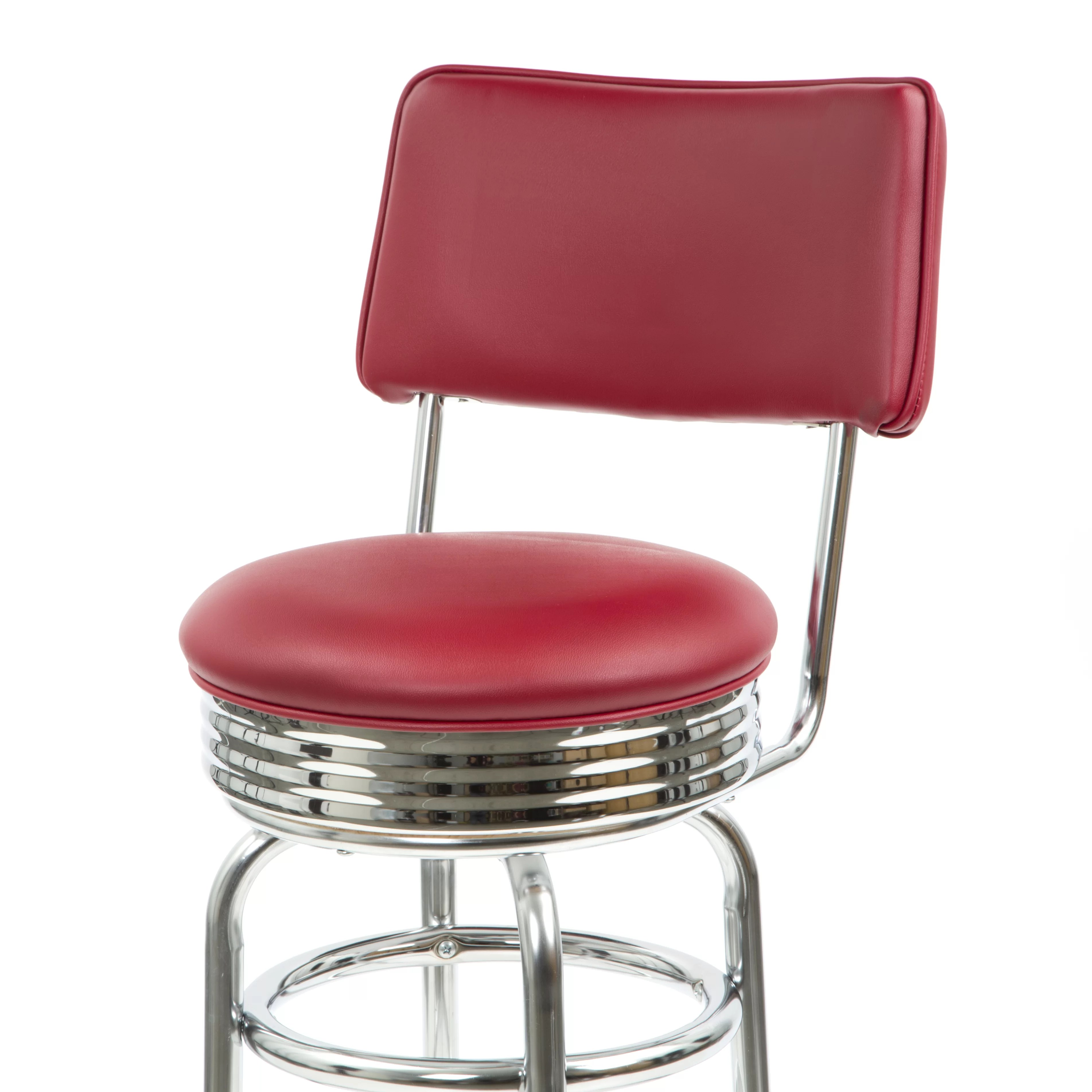 swivel chair regal video game chairs target new retro express bar stool and reviews wayfair