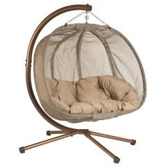 Hanging Chair Loveseat Oak Farmhouse Chairs Flowerhouse Pumpkin Hammock With Stand And Reviews Wayfair
