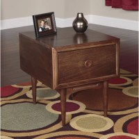 American Furniture Classics Mid Century End Table