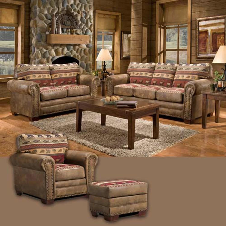 American Furniture Classics Sierra Lodge 4 Piece Living Room Set  Reviews  Wayfair