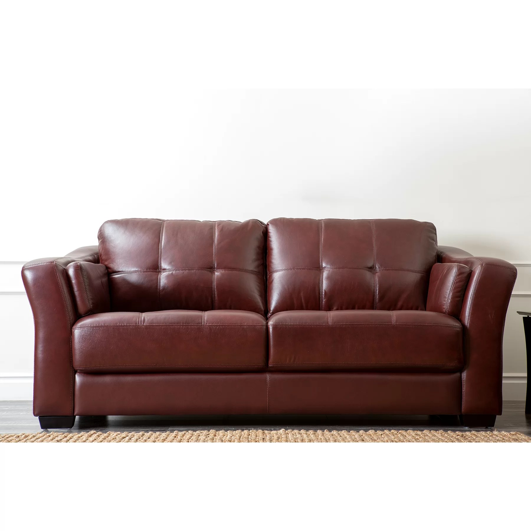 Abbyson Leather Sofa Reviews Image Models