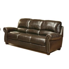 Abbyson Leather Sofa Reviews Brown Chesterfield Sofas Guide Furniture