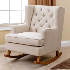 Abbyson Living Rocking Chair Vintage Club And Reviews Wayfair