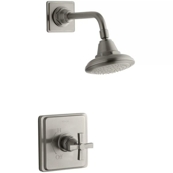 Pinstripe Rite-Temp Pressure-Balancing Shower Faucet Trim ...