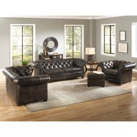 Lazzaro Leather Victoria Living Room Collection & Reviews ...