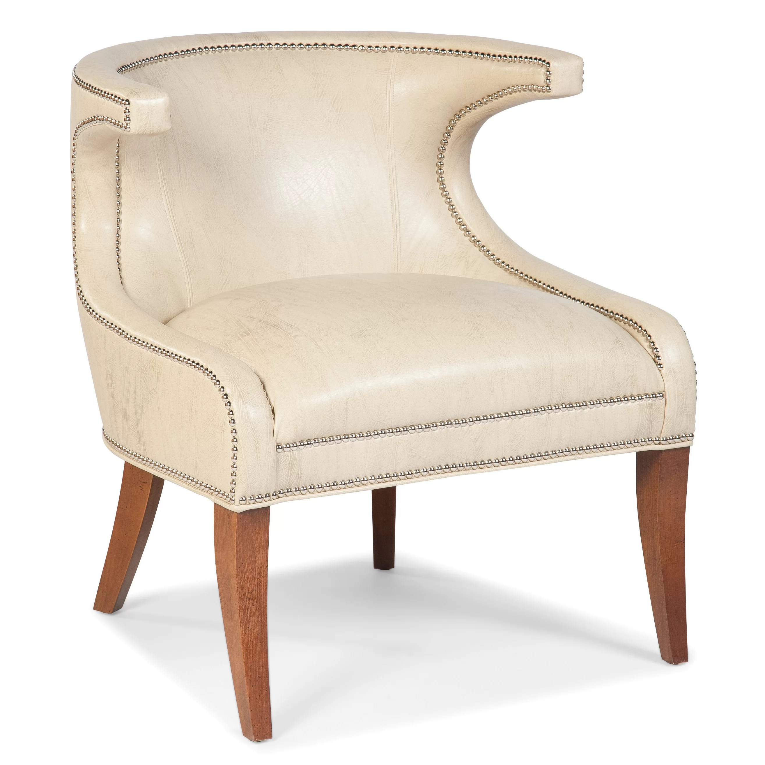 fairfield chair company reviews leather chairs pottery barn transitional accent wingback wayfair