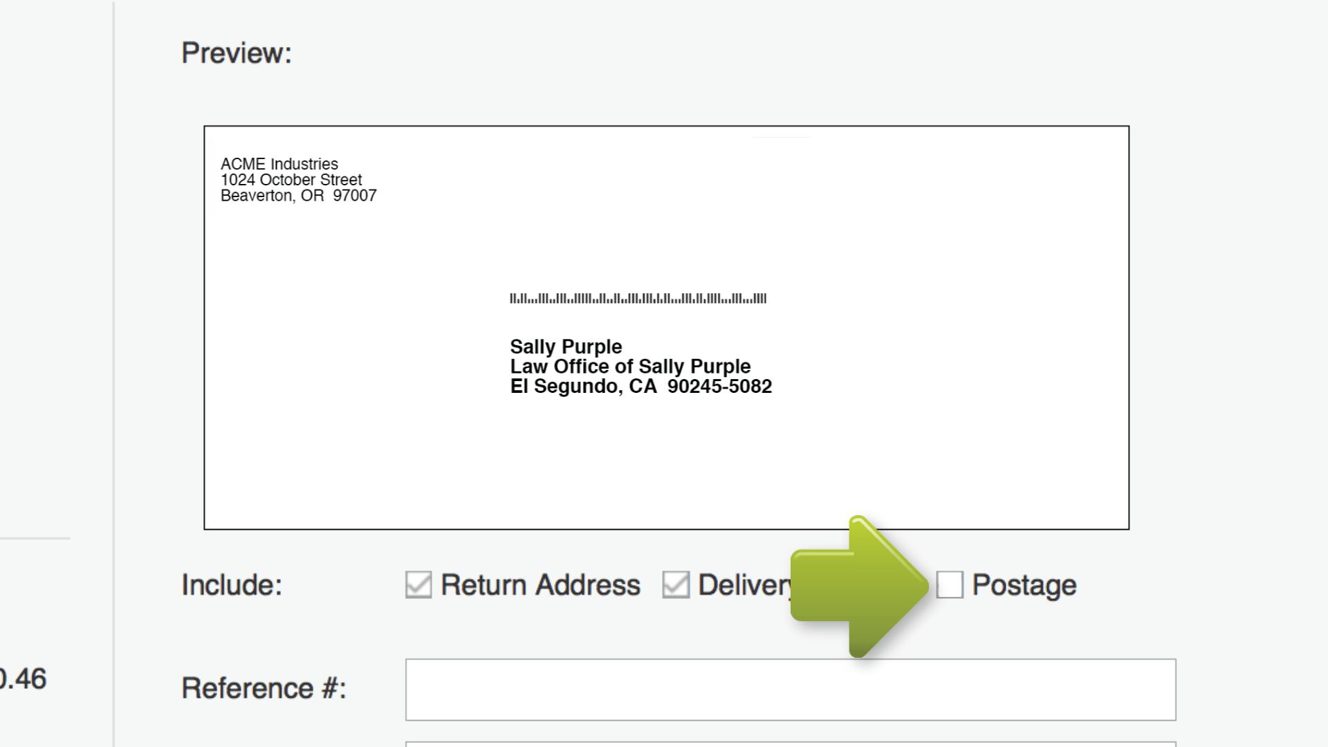 how to print envelopes