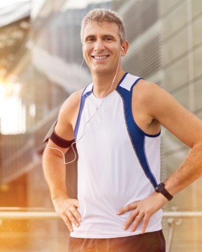 winfit mature male jogger