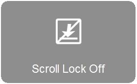 Locating the Scroll Lock key on the K360 keyboard