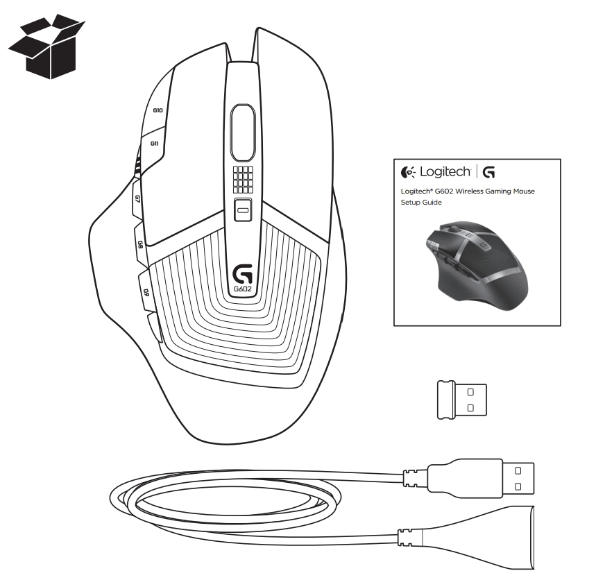 Logitech G602 Software, Manuals, Drivers Download for