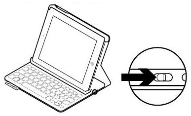 Logitech Ultrathin Keyboard Folio m1 not working