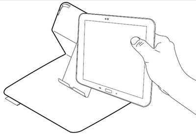 Insertion et retrait d'une tablette Samsung Galaxy Tab 3
