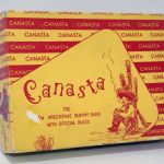 Canasta (The New Argentine Rummy Game) w/ official rules