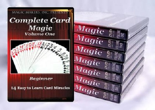 Complete Card Magic - 7 Volume Set - The Most Complete Card Magic DVD Course on the Market!