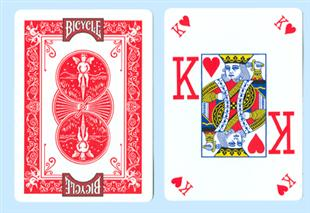 Bicycle Pro Poker Deck - Red