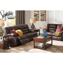 Nice Living Room Sets Round Side Table For Levelland Reclining 2 Piece Livingroom Set S L In Genuine Leather Recliner Includes Sofa Loveseat By Ashley