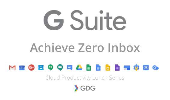 Achieve Inbox Zero with the Cloud Productivity Lunch