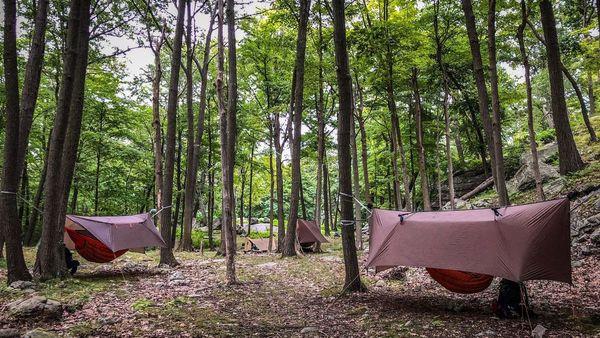 hammock backpacking group new