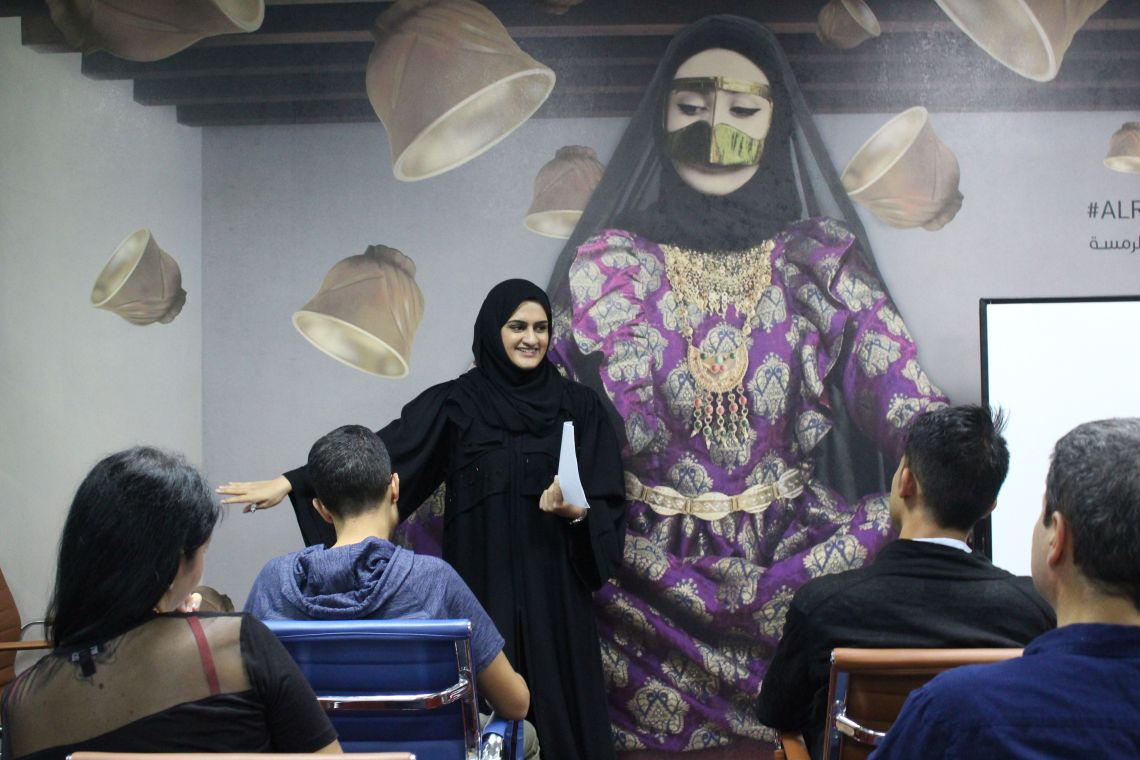 Spoken Emirati Sessions & Events by AlRamsa