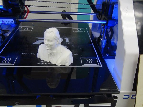 June Open Meeting of the AMG: 3D Scanning and Sculpting by