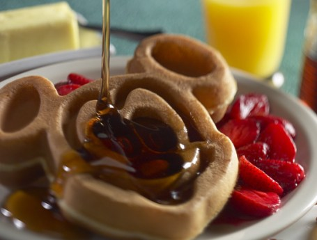 Gluten-Free Waffle Available at Disneyland Resort
