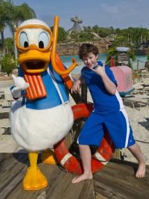 Walt Disney World Donald Duck