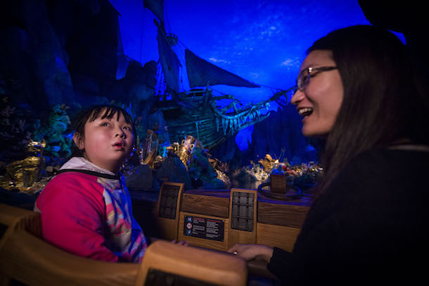 Pirates of the Caribbean: Battle for the Sunken Treasure at Shanghai Disney Resort