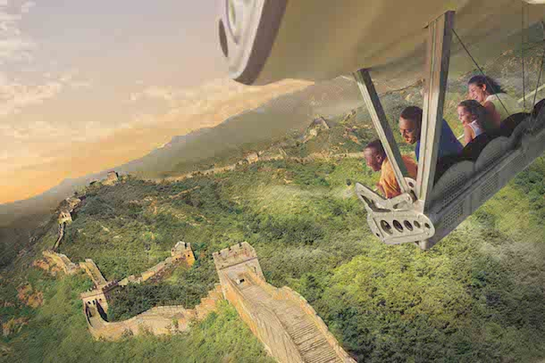 Soaring Over the Horizon at Shanghai Disney Resort