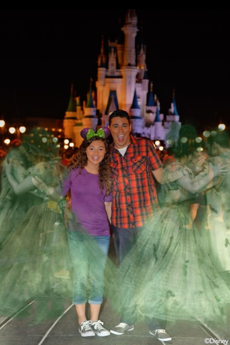 Exclusive Disney PhotoPass Magic Shots During Mickey's Not-So-Scary Halloween Party